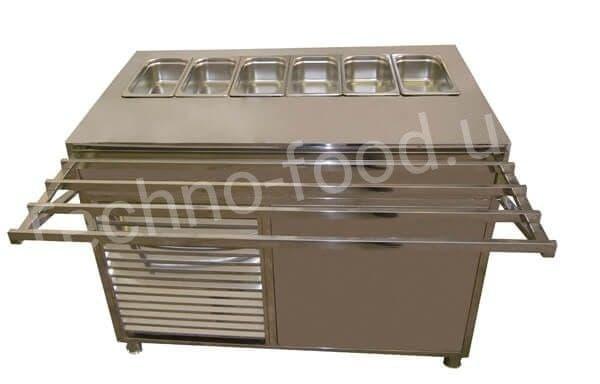 Мармит стол холодильный AVS МСХ.