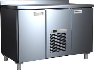 Шкаф холодильный 2GN/LTCarboma (с бортом) корпус нерж