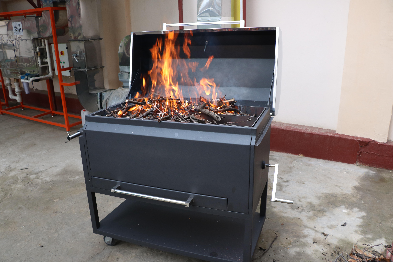 Новинка нашего теплового оборудования — БАРБЕКЮ мангал