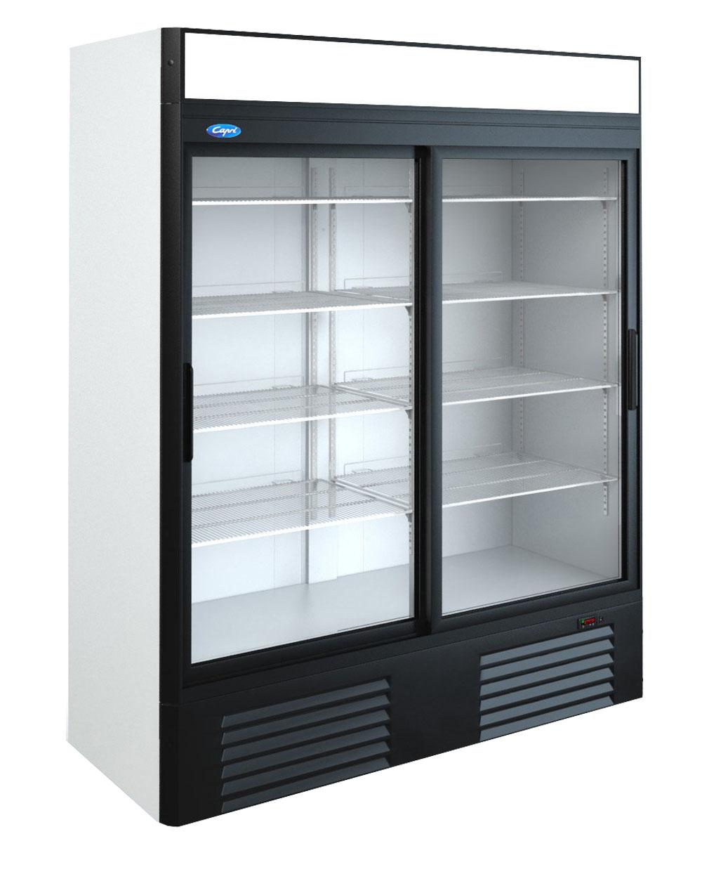 Шкаф холодильный 2х секционный модель 1.5СК марки «Капри»