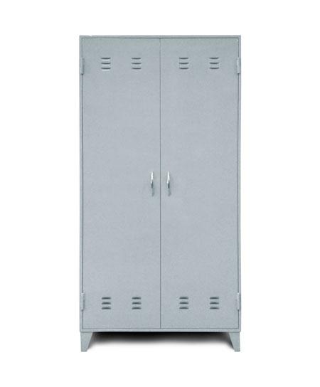 Шкаф металлический двухсекционный