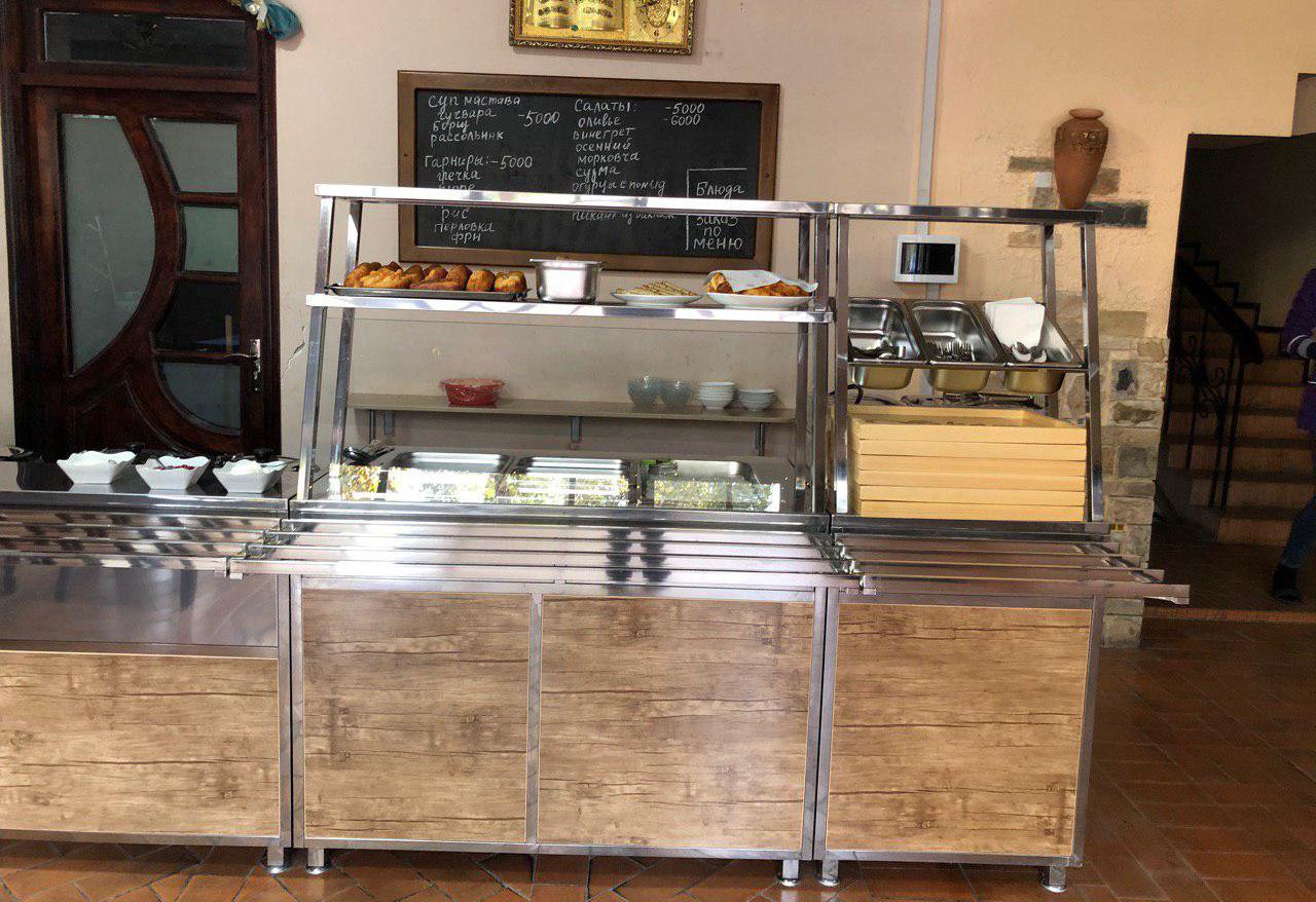 Компания ООО «AVS AGRO VATANPARVAR» оборудовала ресторан «SHOX» в городе Фергане.