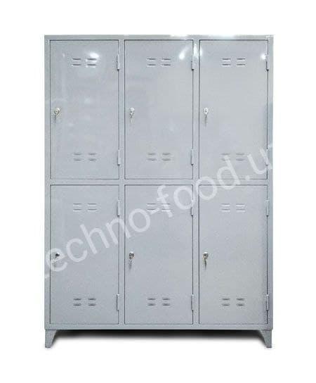 Шкаф металлический 6-ти  секционный