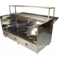 Модуль Мармит первых блюд 3-х конфорочный.