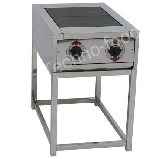 Электрическая плита ( 2-х конфорочная) без жарочного шкафа