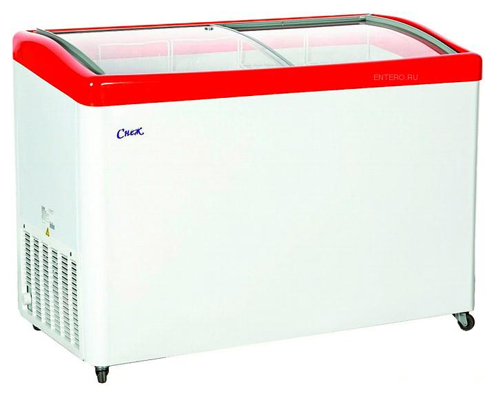 Ларь морозильный  МЛГ 400 красный