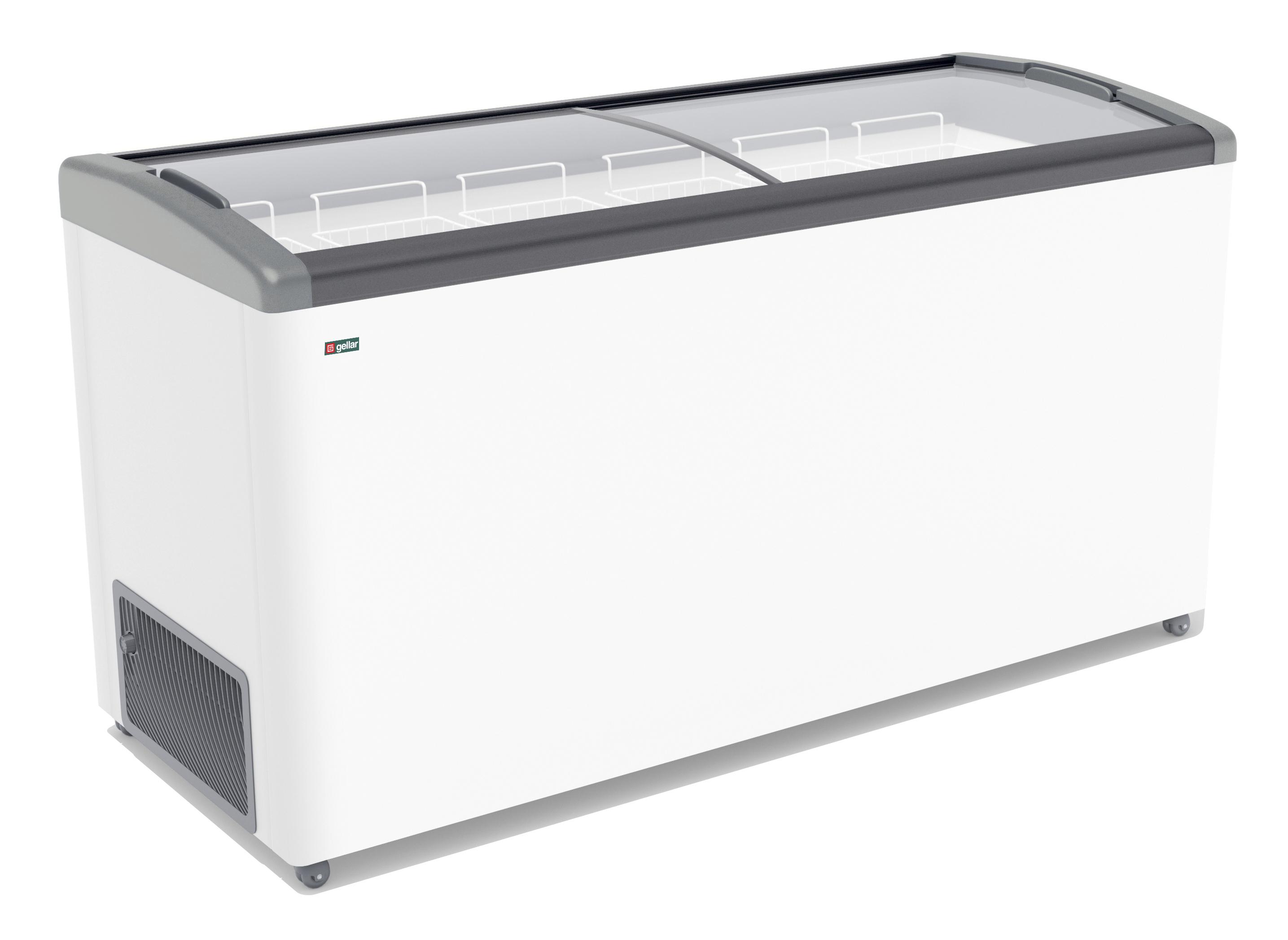 Морозильный ларь ЛВН 700 П Eletto (СF 700 FE) 7 корзин (серый)